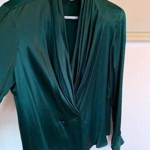 Allison Taylor Tops - Allison Taylor 100% Silk Blouse